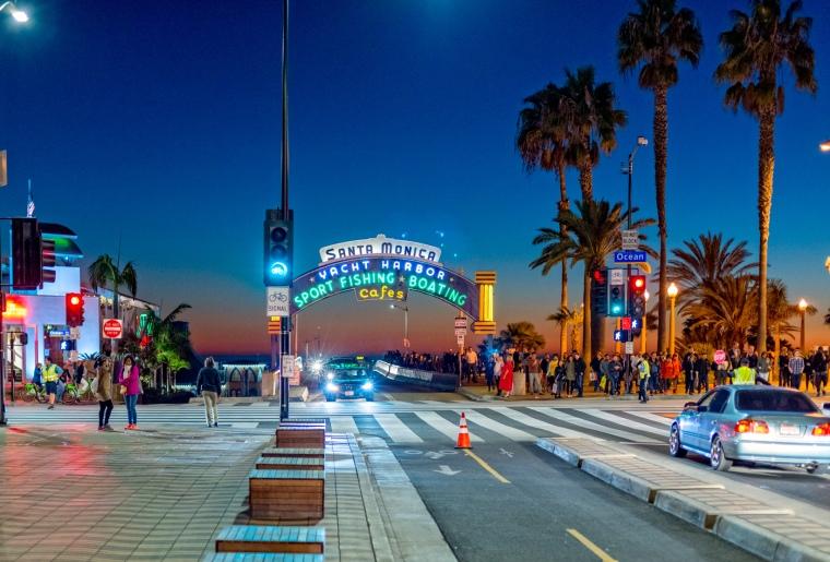 Santa Monica in December